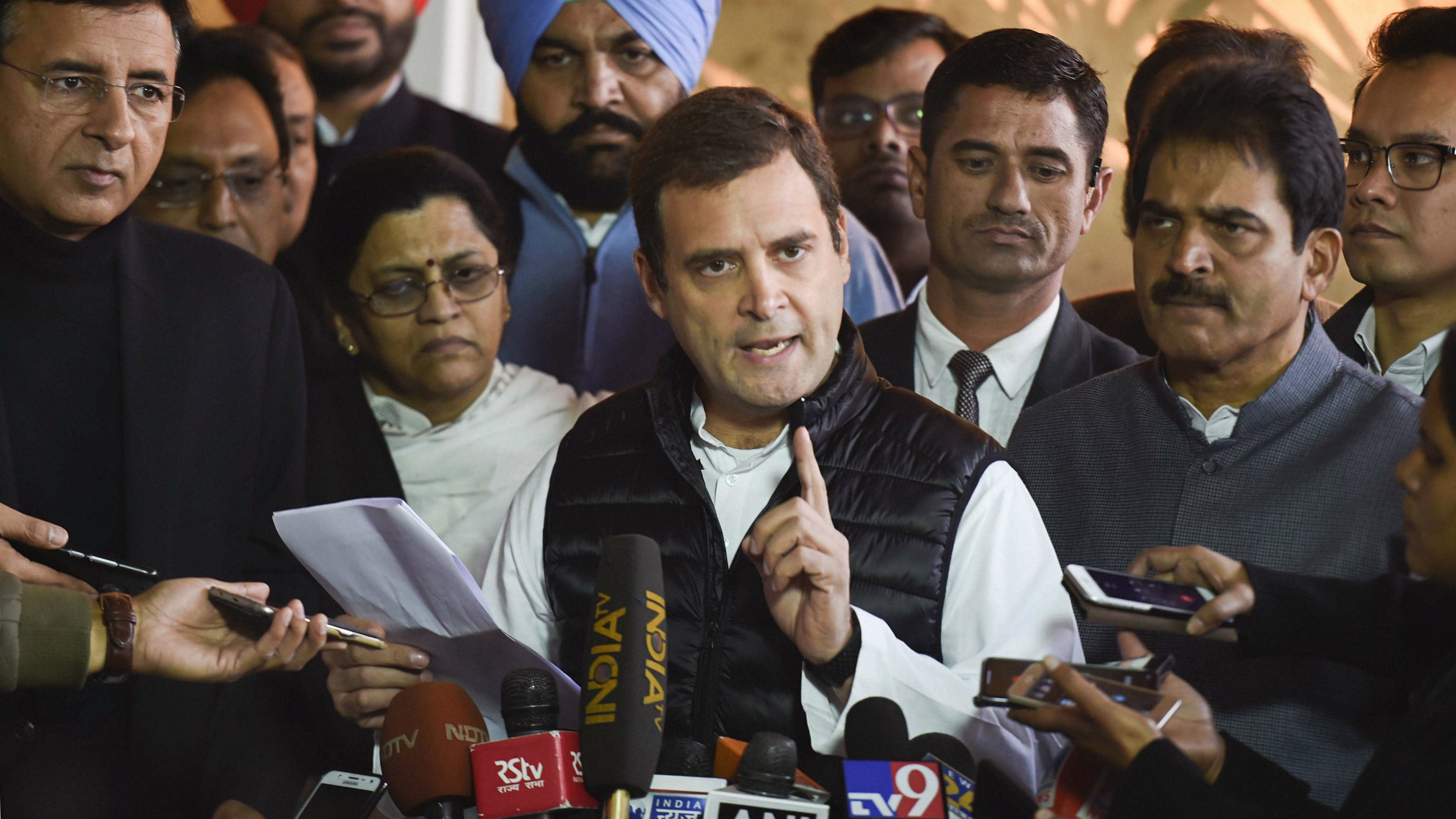 No one can save Narendra Modi from Rafale probe: Rahul Gandhi after Alok Verma verdict