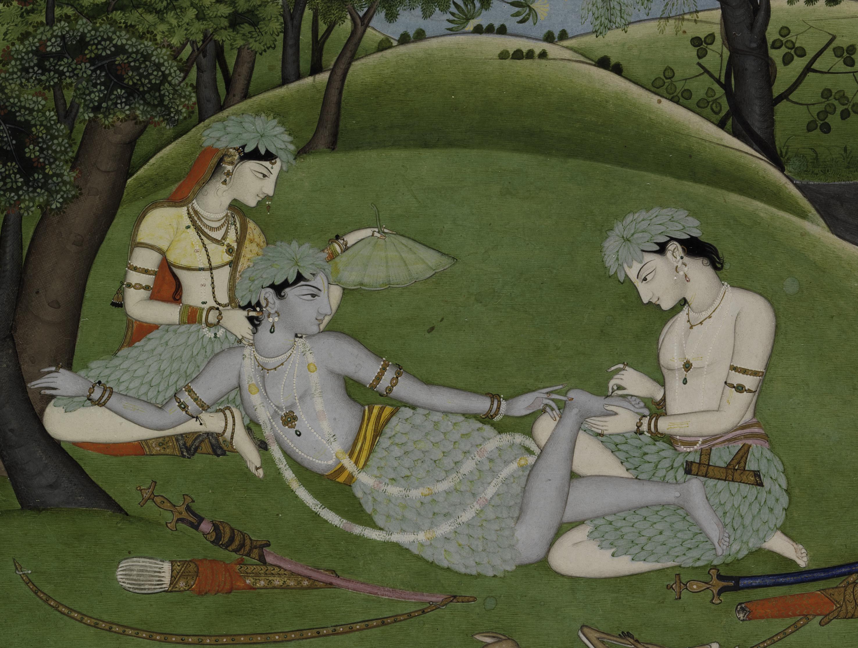 The Metropolitan Museum of Art showcases the Ramayana