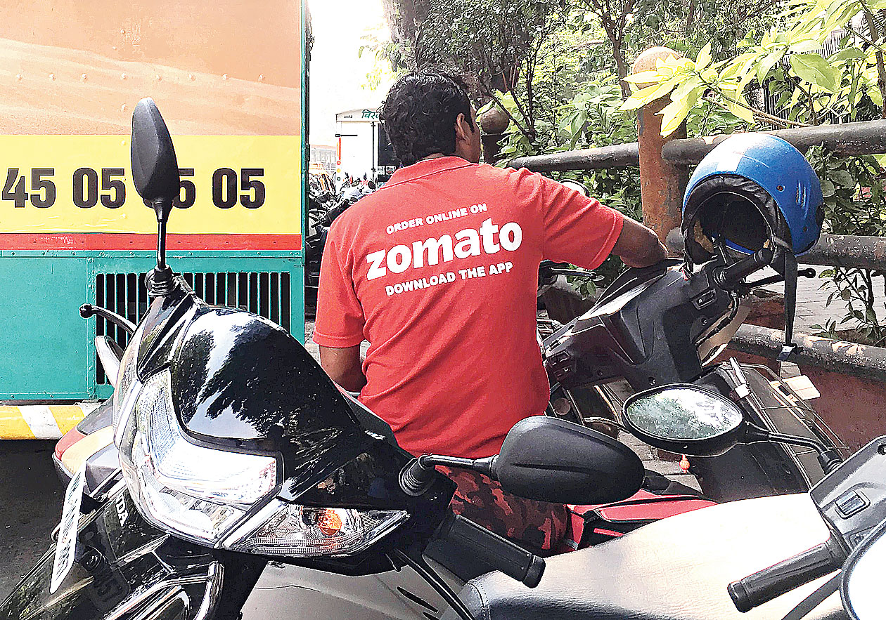 One of the Zomato delivery executives taking part in the agitation alleged that the company was forcing them to deliver beef and pork against their will and that some of their demands were not being met.