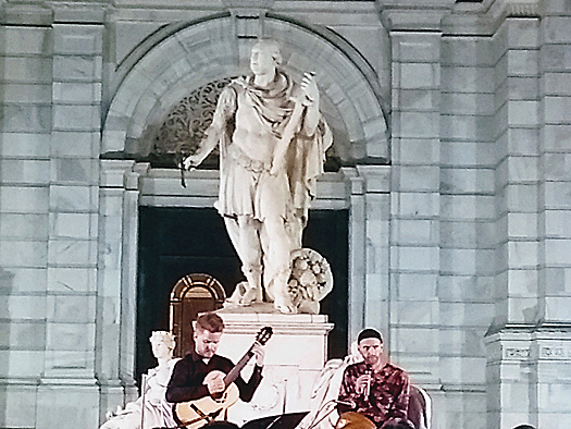 A moment from 'Journey through Italy: The Golden Age of the Mandolin'
