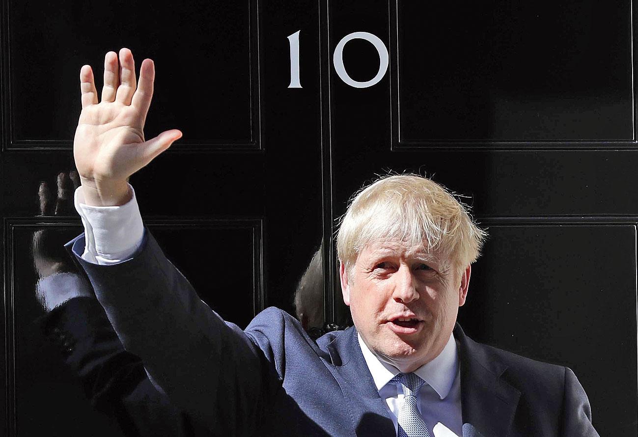 US President says Boris is British Trump