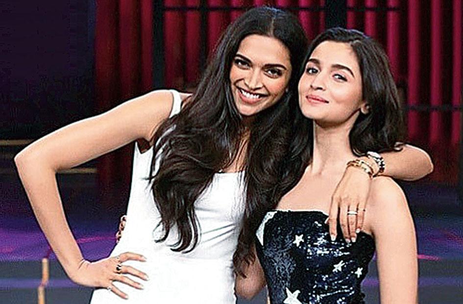 Deepika Padukone and Alia Bhatt on Koffee with Karan