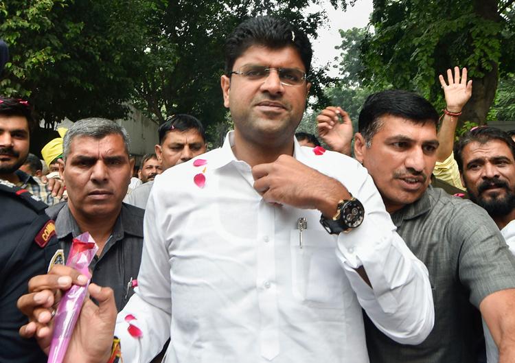 Dushyant Chautala: Criminal once removed?