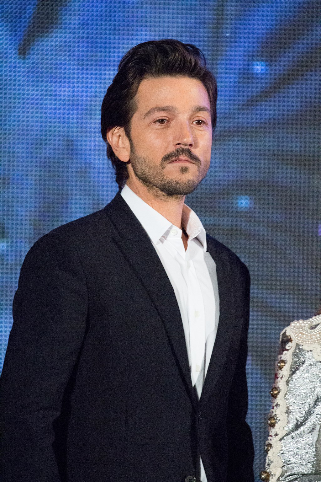 Mexican actor Diego Luna made history by becoming the first Latin main lead with Rogue One: A Star Wars Story