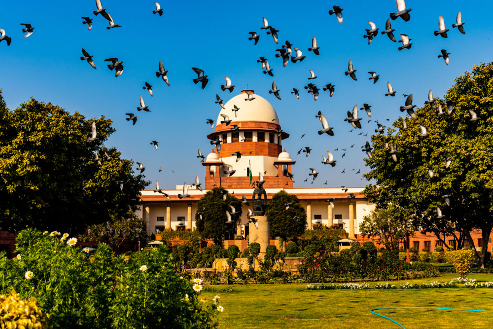 In other words, the bench of Justices N.V. Ramana, Sanjay Kishan Kaul, R. Subhash Reddy, B.R. Gavai and Surya Kant will now hear the larger issue itself with regard to the government's decision to scrap the provisions and carve out two Union Territories of Jammu and Ladakh.