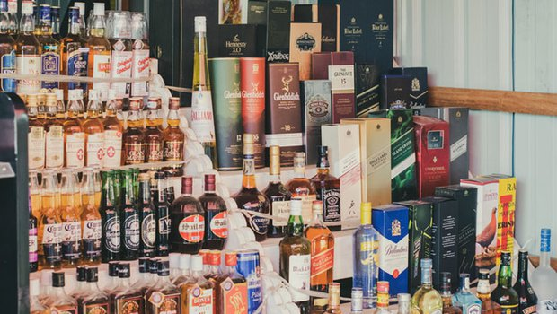 Excise officials said there were complaints about black marketing of foreign and country liquors. Six licenced shops have been sealed for selling liquor on the sly.
