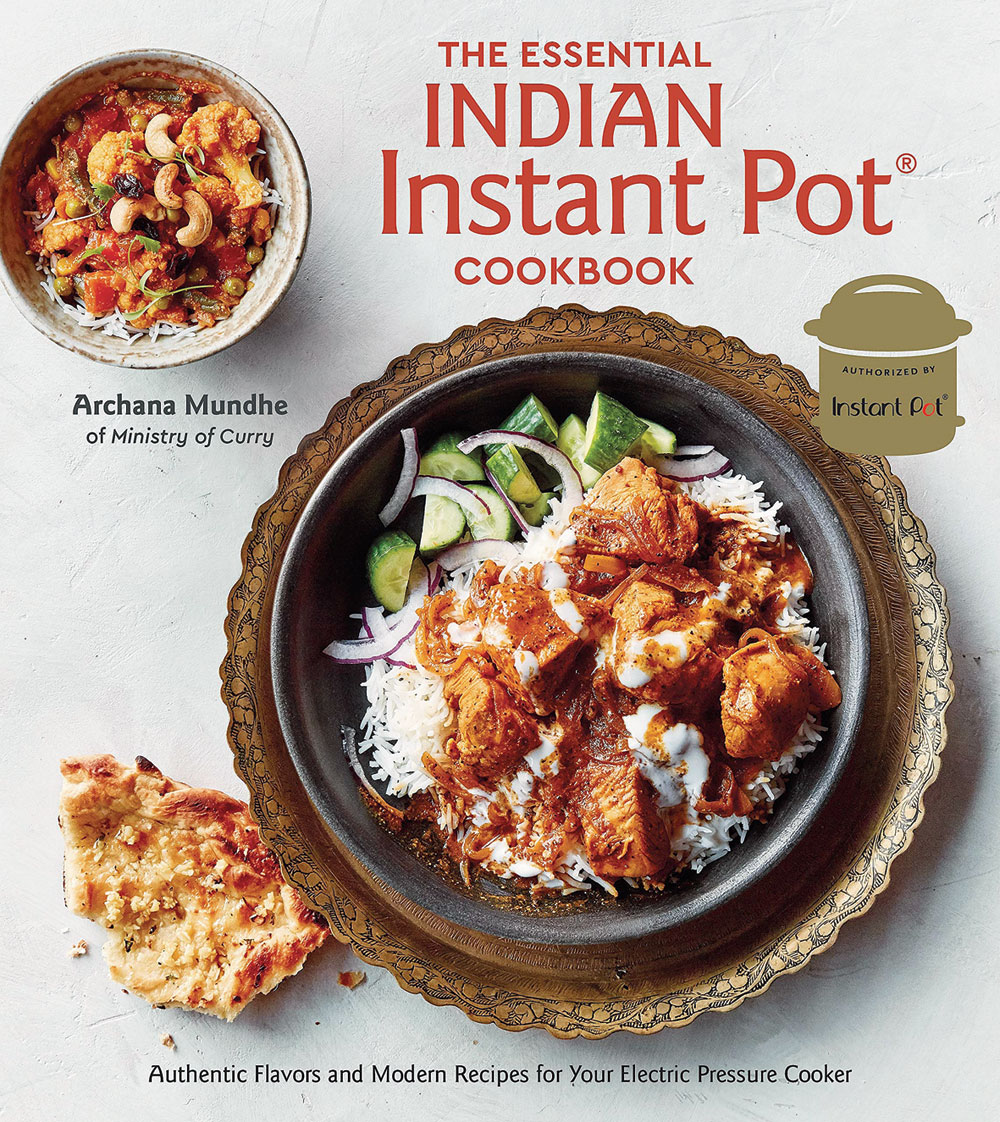 Archana Mundhe's The Essential Indian Instant Pot Cookbook is a popular buy on Amazon