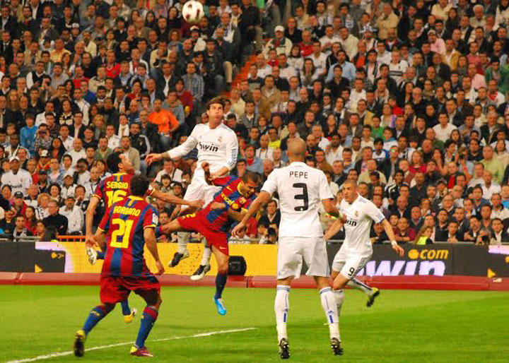 El Clasico had to be postponed in October due to violent demonstrations