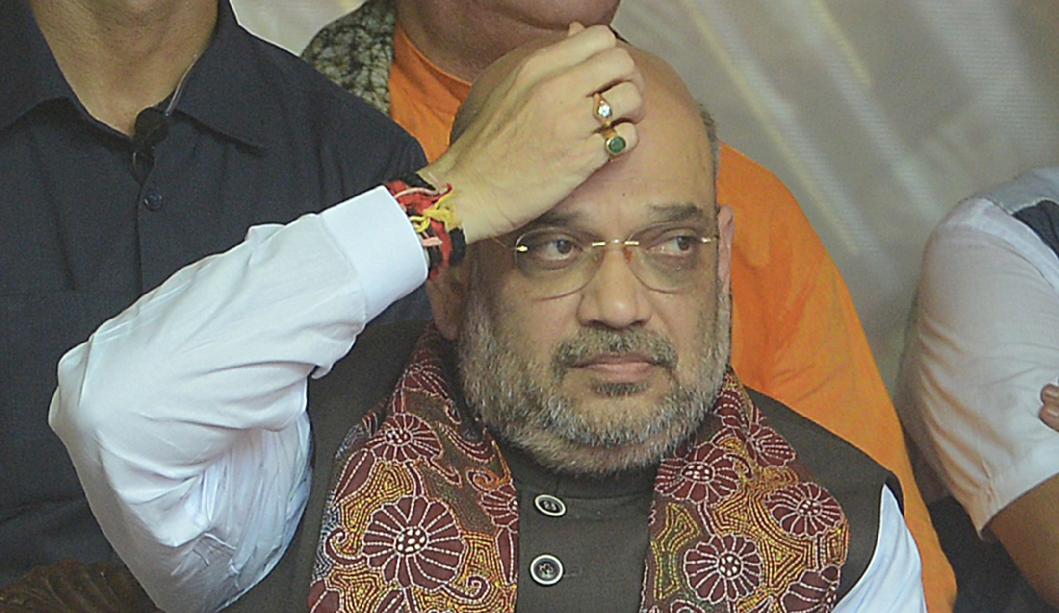 Amit Shah (in picture) is widely credited within the BJP for challenging the Opposition and conquering one state after another in the last four years.