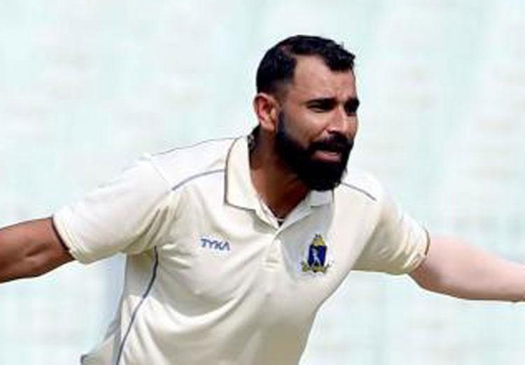 Cricketer Mohammad Shami