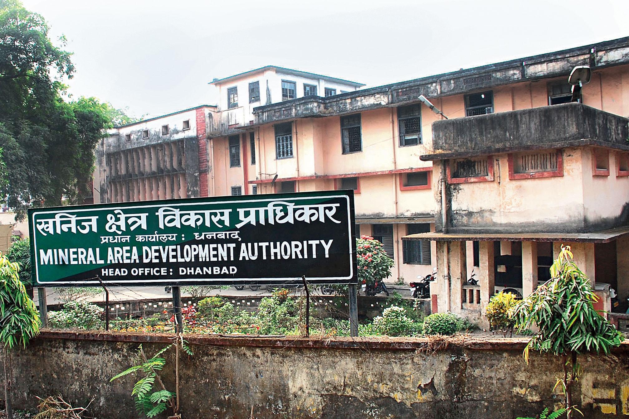 Mada head office in Dhanbad on Sunday.