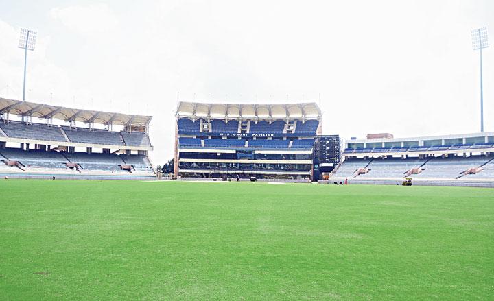 The JSCA stadium in Ranchi on Thursday