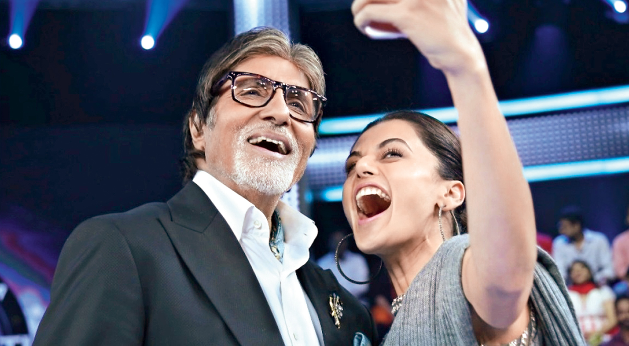 Amitabh Bachchan and Taapsee Pannu