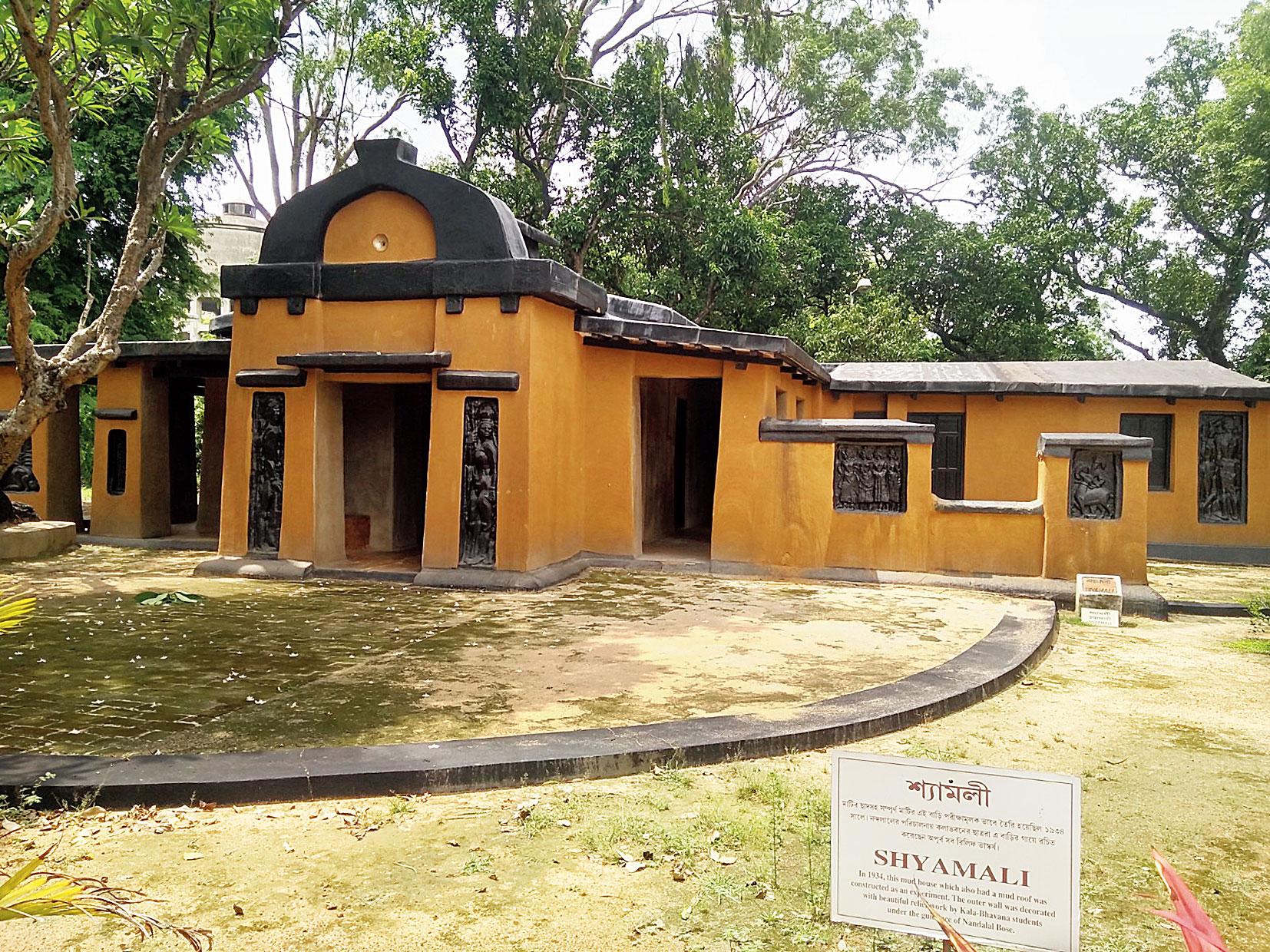 Shyamali after the renovation on Saturday.