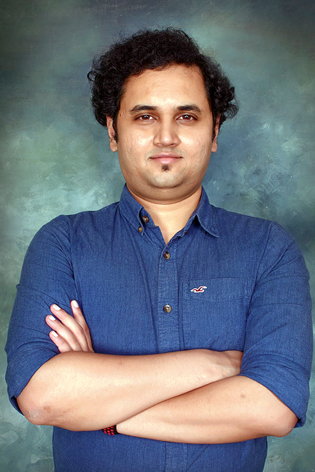 Krishnaprasad Jagadish, co-founder of Parjanya Creative