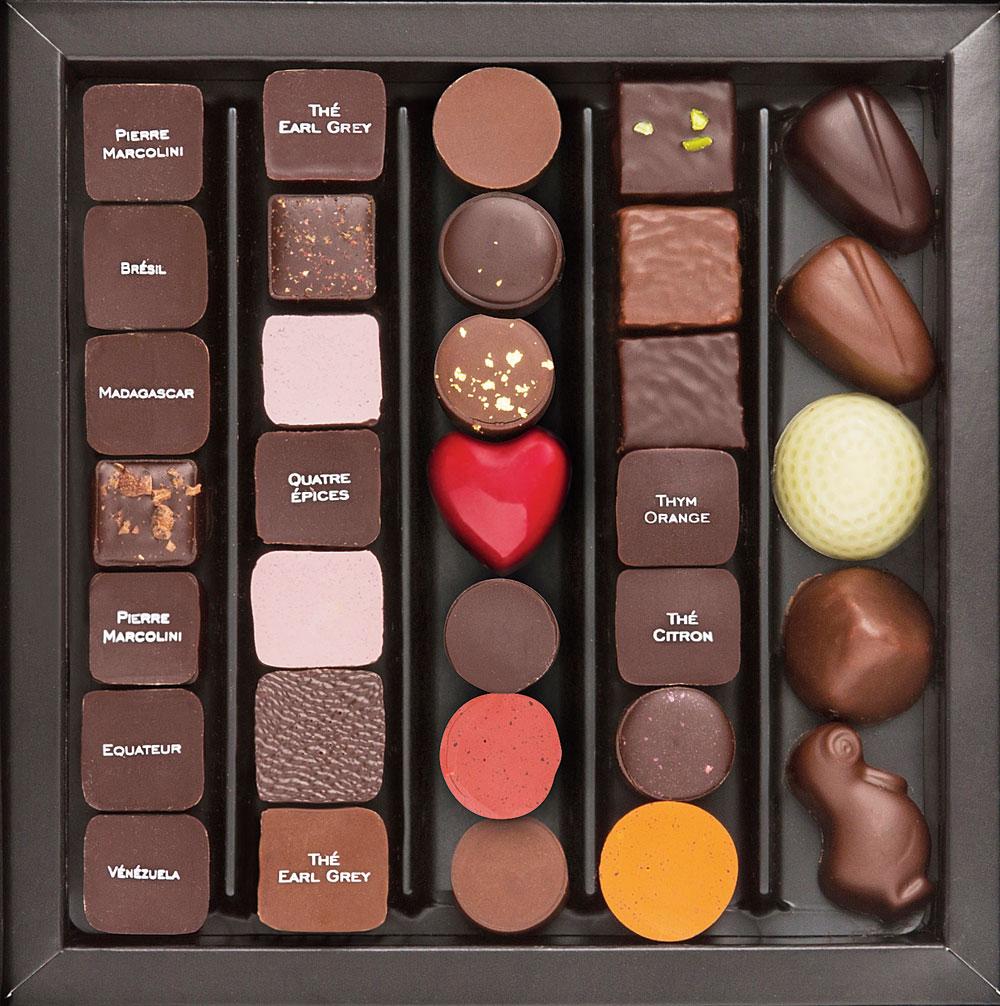 Belgian chocolatier Pierre Marcolini's treats are the creme de la creme in this city