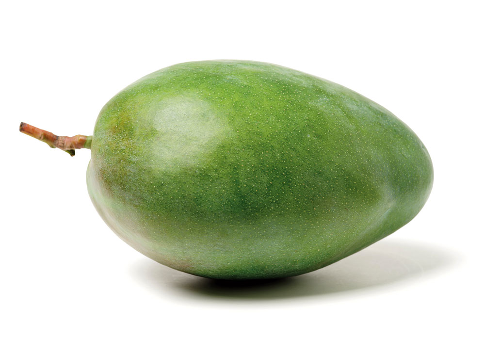A raw mango