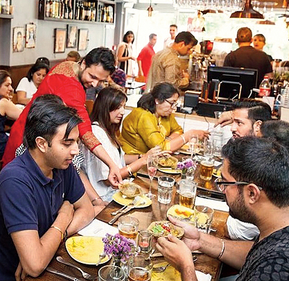Calcutta served on a platter in the heart of London
