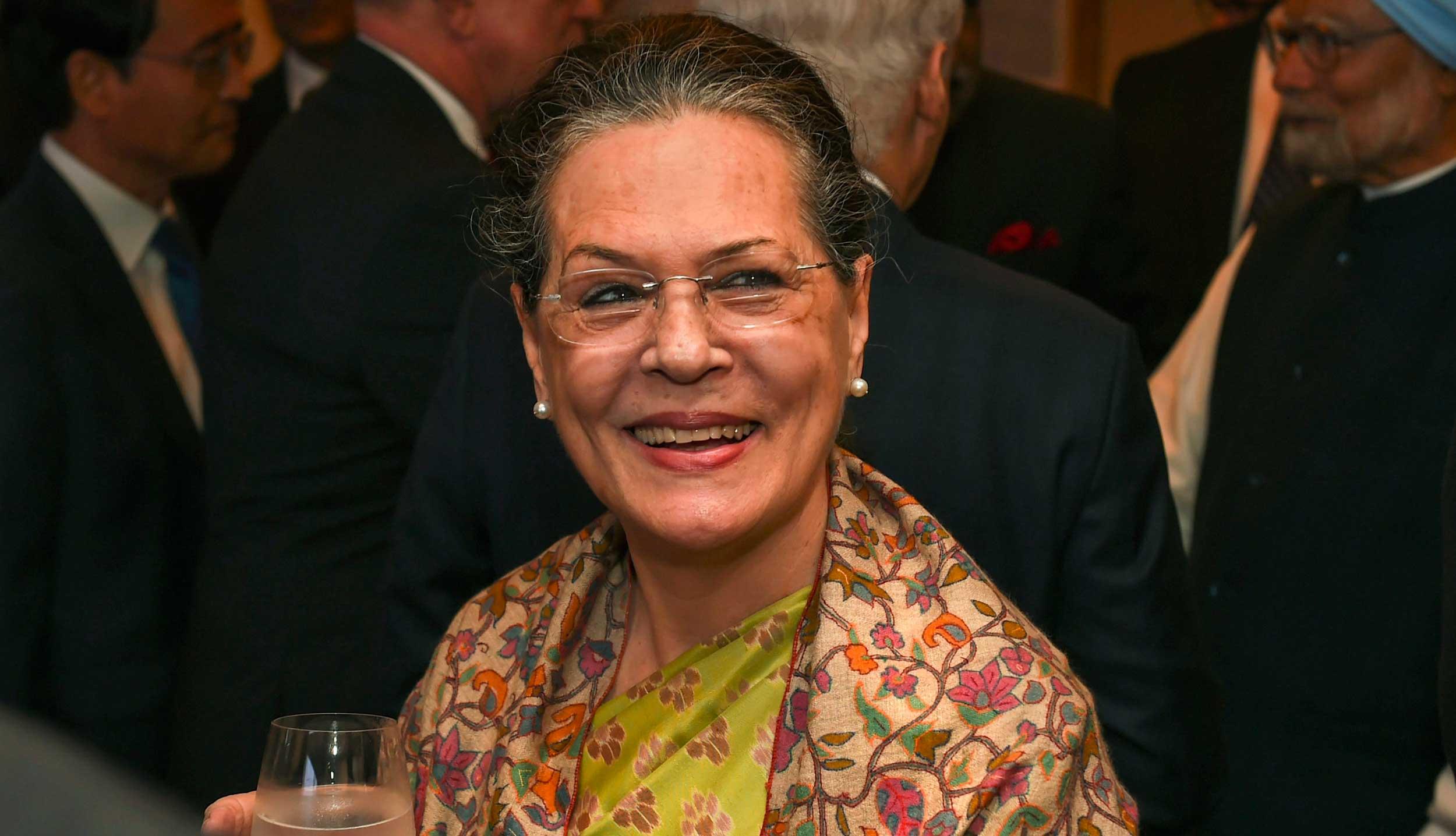 Sonia Gandhi is interim Congress president