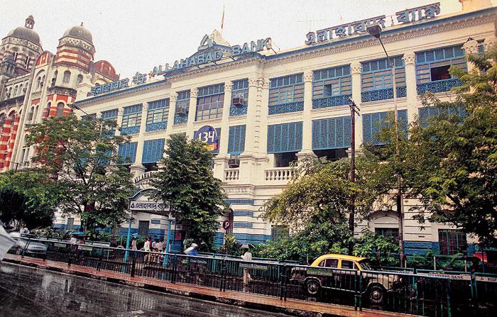 Allahabad Bank headquarters in Calcutta