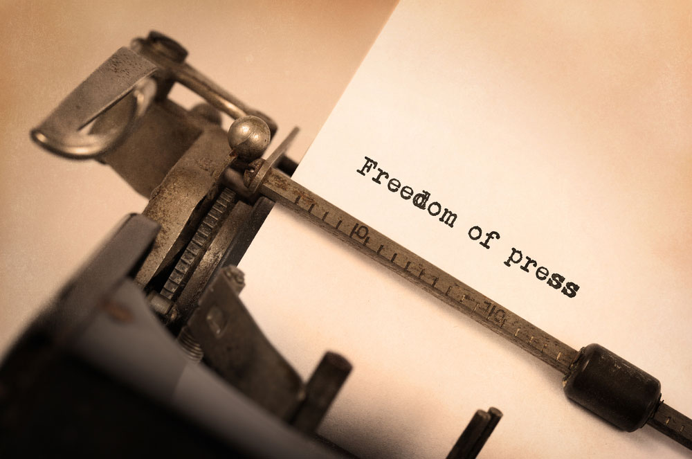 May 3 is celebrated worldwide as World Press Freedom Day