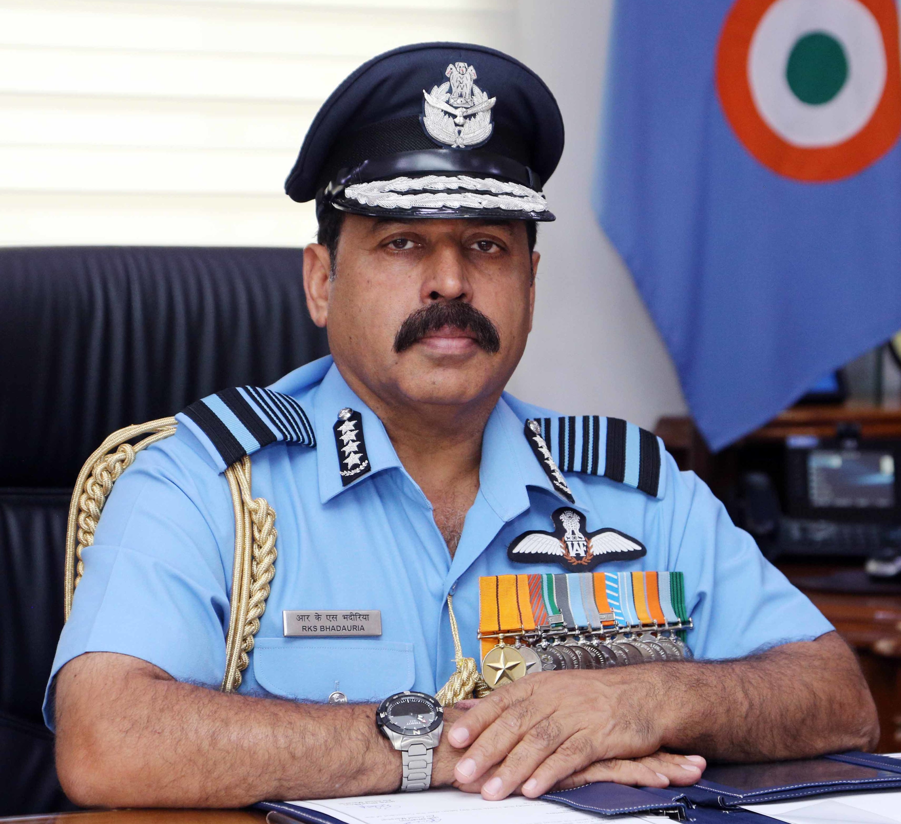 Air Chief Marshal Rakesh Kumar Singh Bhadauria, congratulated the Eastern Air Command for completion of 60 years of glorious service to the nation and highlighted the operational importance of the command.