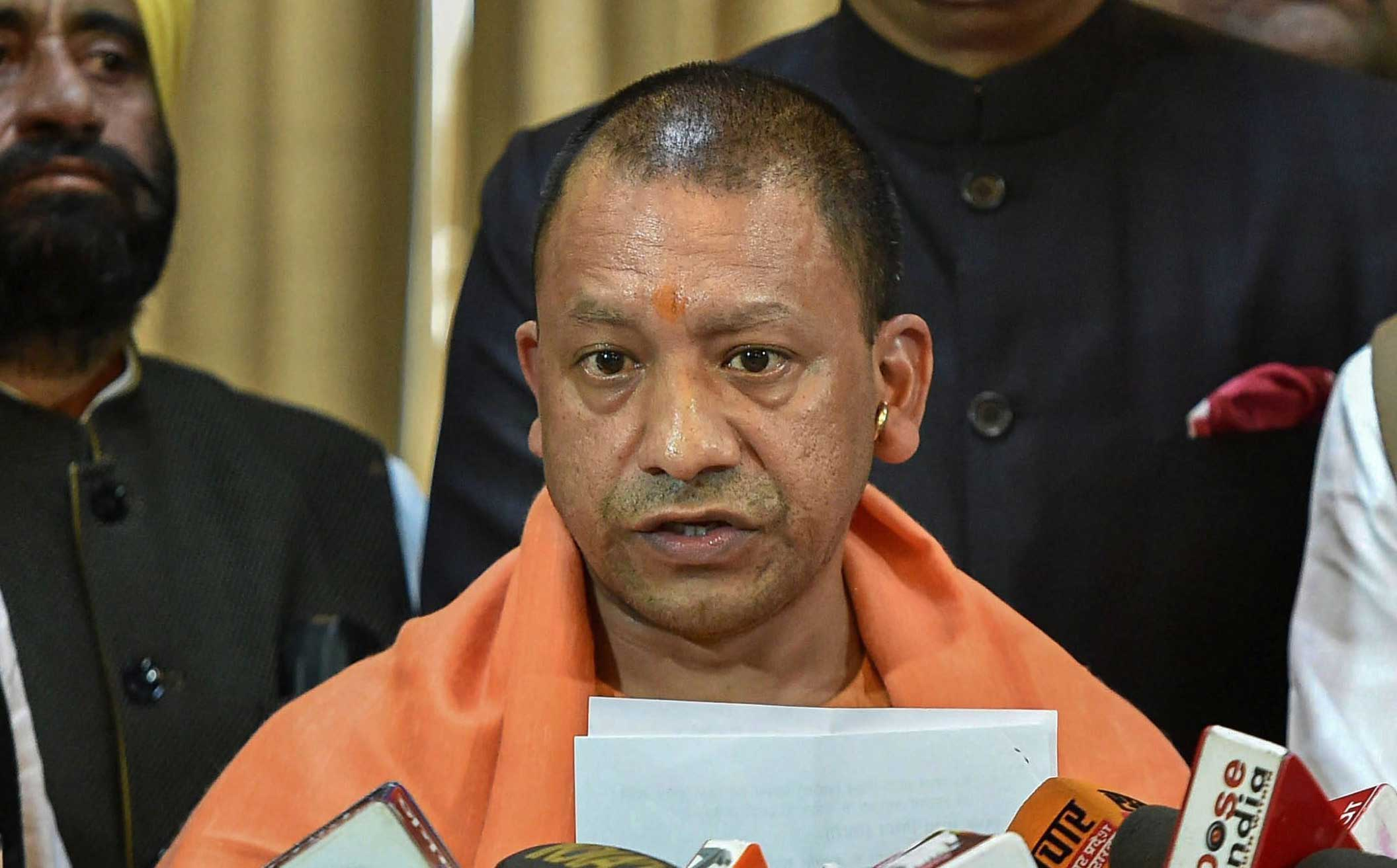 "A press release from Yogi Adityanath's office and the Uttar Pradesh information department said the chief minister had asked for a ""detailed report"" on the Bulandshahr murders."