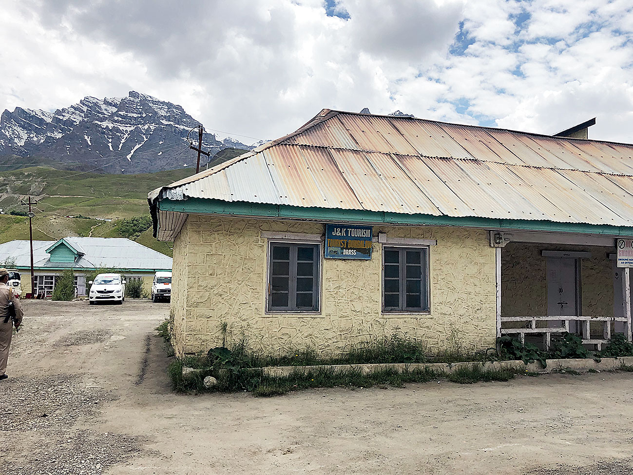 Drass tourist bungalow as it is today