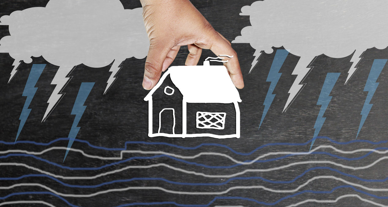 Cyclonic storms are among the many destructive situations that home insurance protects you against. Even though you may suffer significant damages, your insurance policy safeguards your finances and helps getting your life back on track sooner.