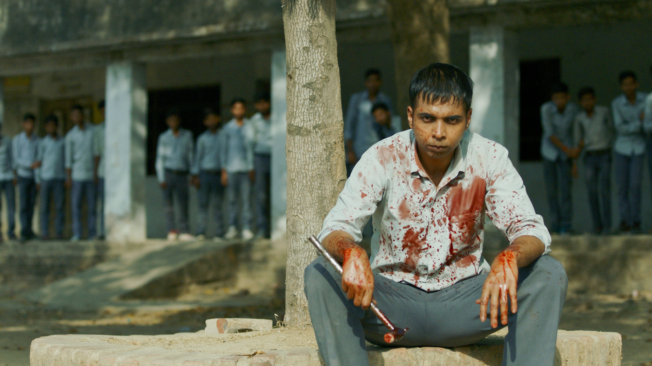 BLOOD FEST: Hathoda Tyagi after the triple murder in Paatal Lok