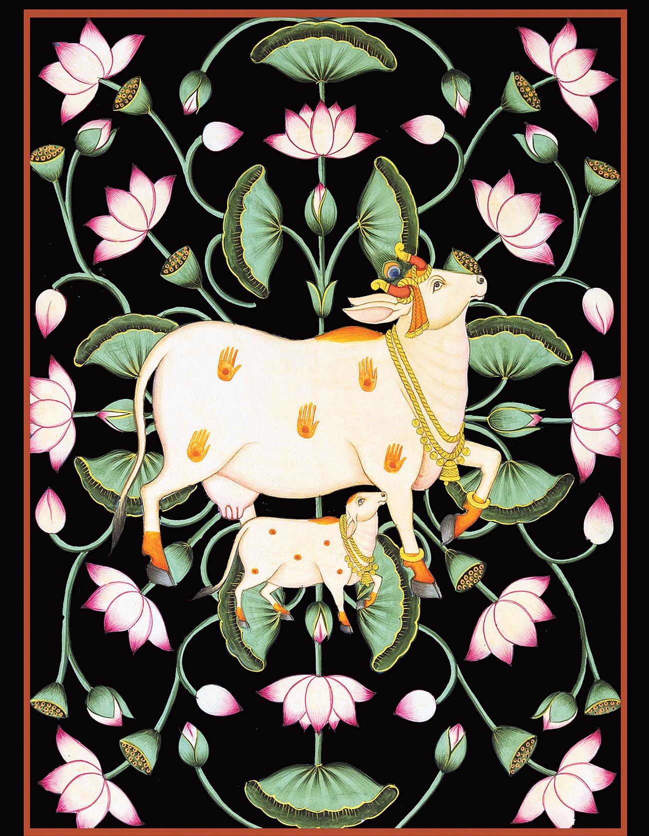 Krishna's Cow (19x14)