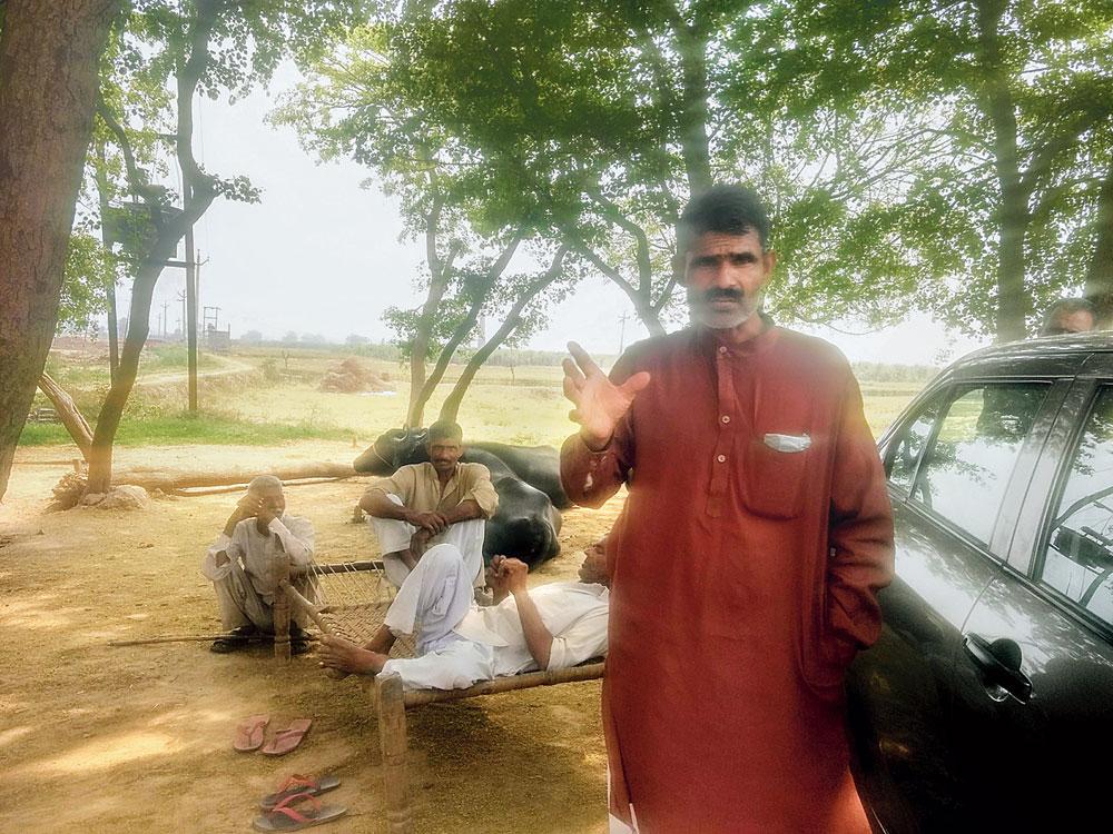Joginder Singh, a Jat farmer in Biharipur village, roots for Modi
