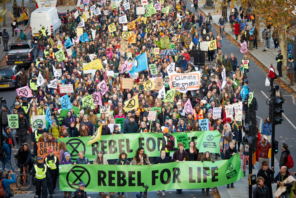 Starting from Western Europe, in Britain, for instance, the Extinction Rebellion took the reins by declaring a week-long mass blockade in major cities worldwide to register its concerns for the planet