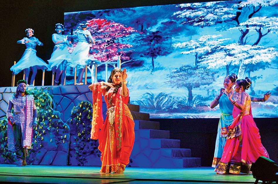 An unabridged production of Tagore's dance drama 'Mayar Khela'