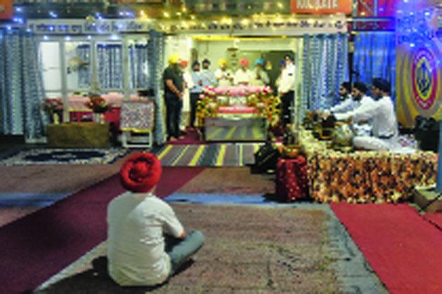 A prayer at Gurdwara Behala on Tuesday for Manmohan Singh's speedy recovery.