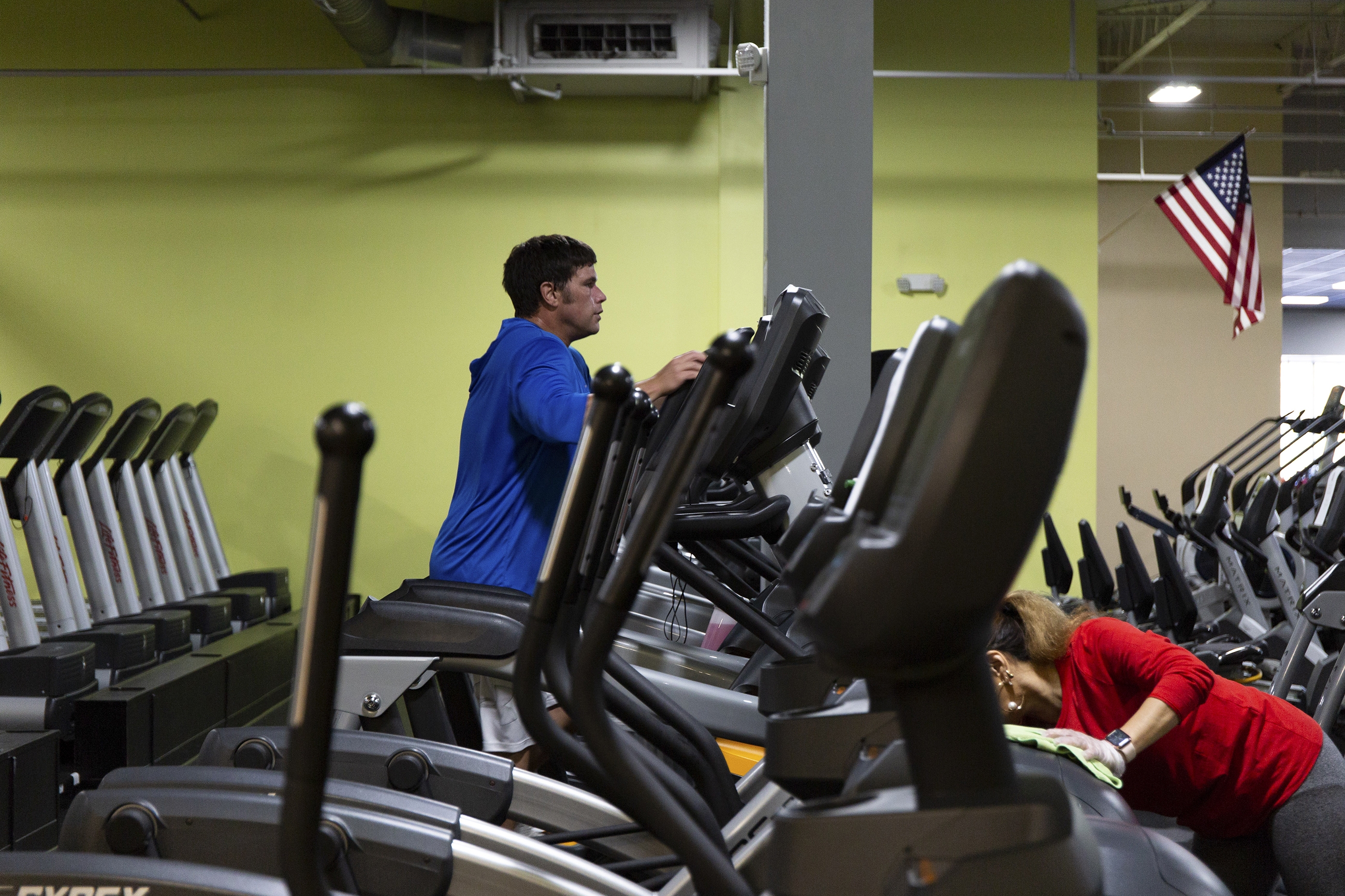 By their very nature, athletic facilities like gyms tend to be germy