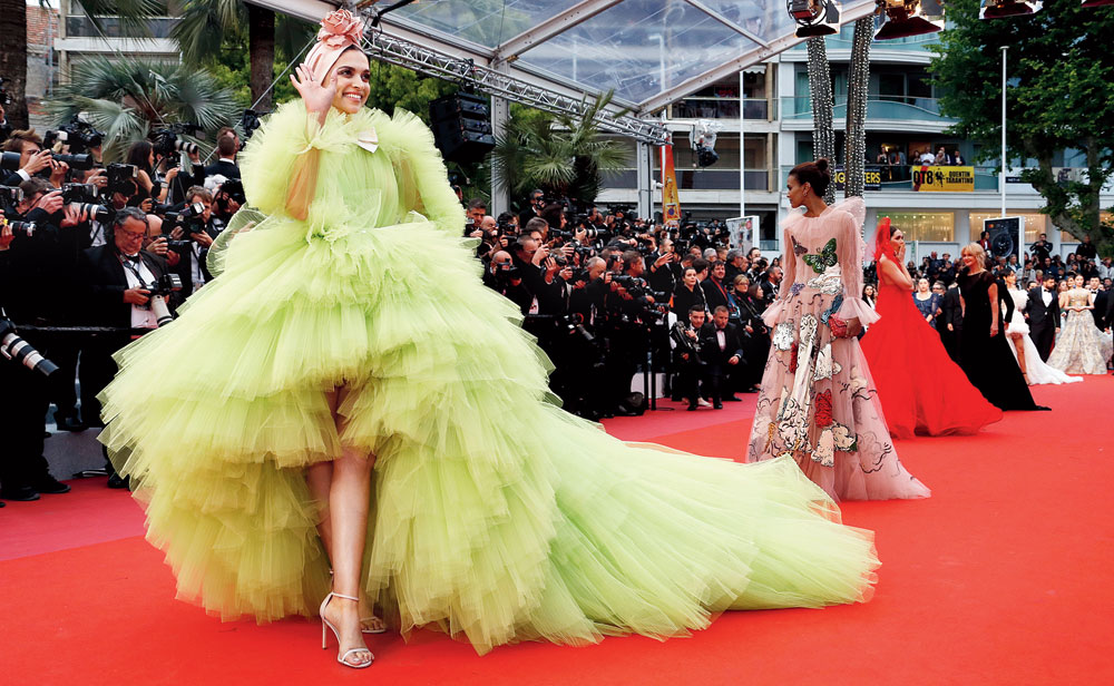 Colour splashes at Cannes