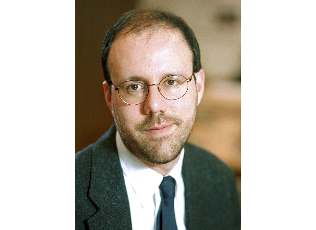 This undated photo provided by Harvard University shows Michael Kremer, professor of economics at the college in Cambridge, Massachusetts, who was awarded 2019 Nobel Prize in economics along with Abhijit Banerjee and Esther Duflo Monday, October 14, 2019