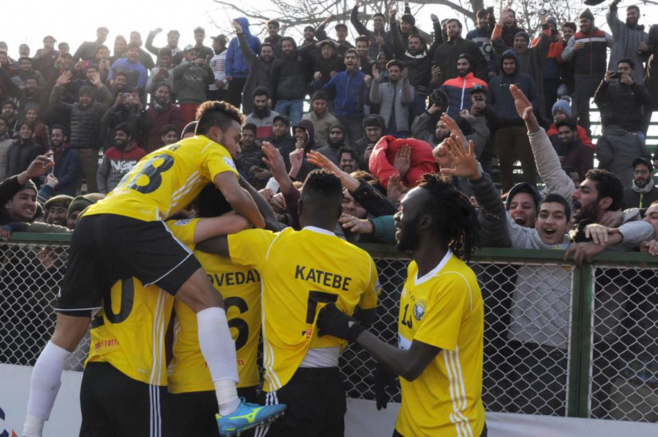 During these trying times, people of Kashmir are looking to find respite in football and filling the stands on Real Kashmir's matchdays