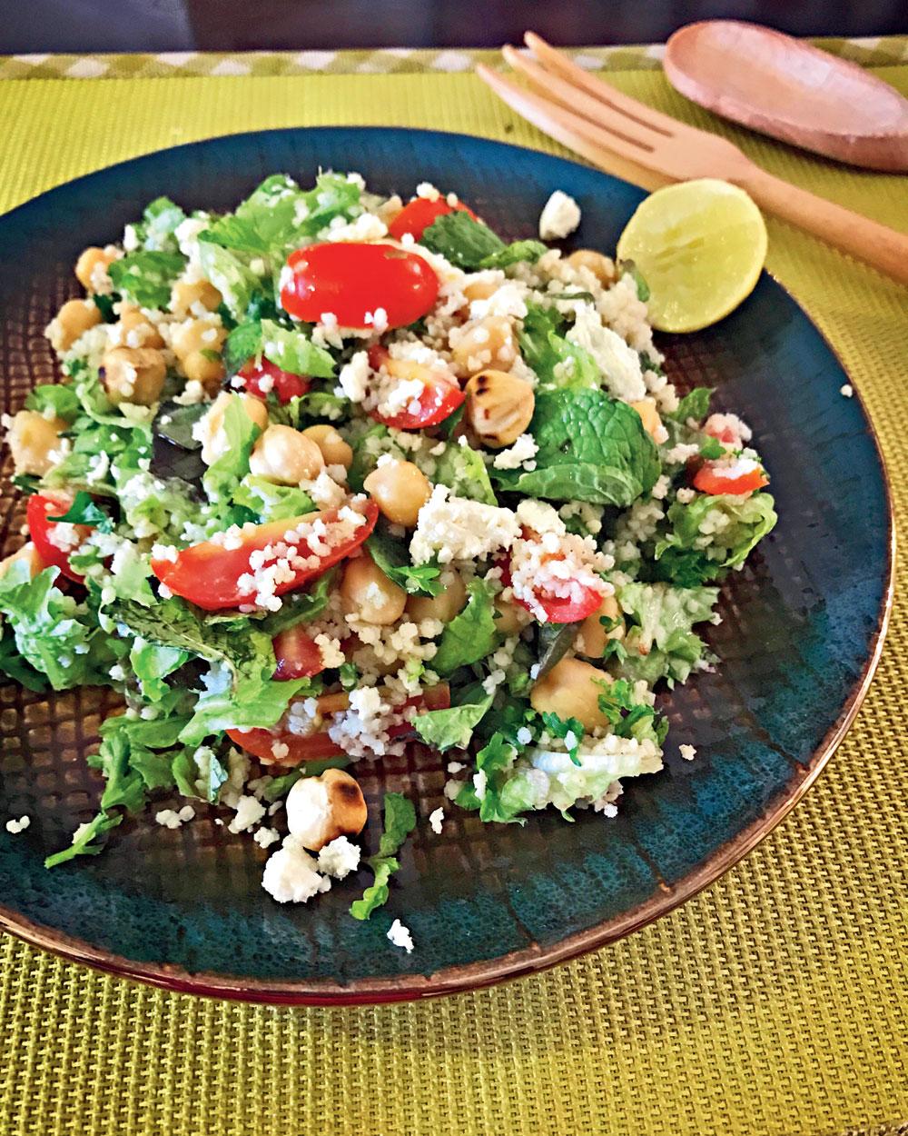 Chickpea Millet Salad