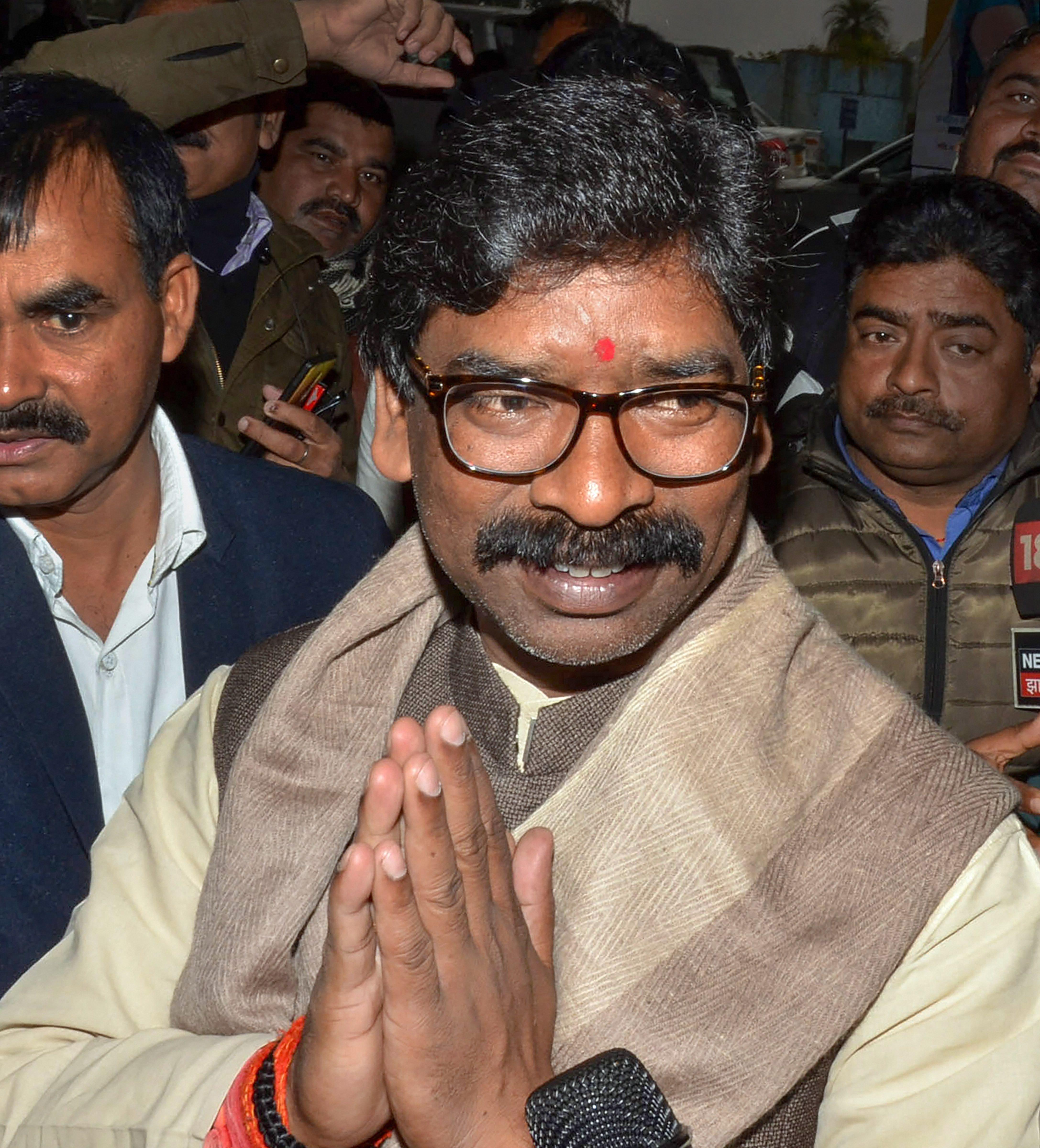 Jharkhand chief minister Hemant Soren.