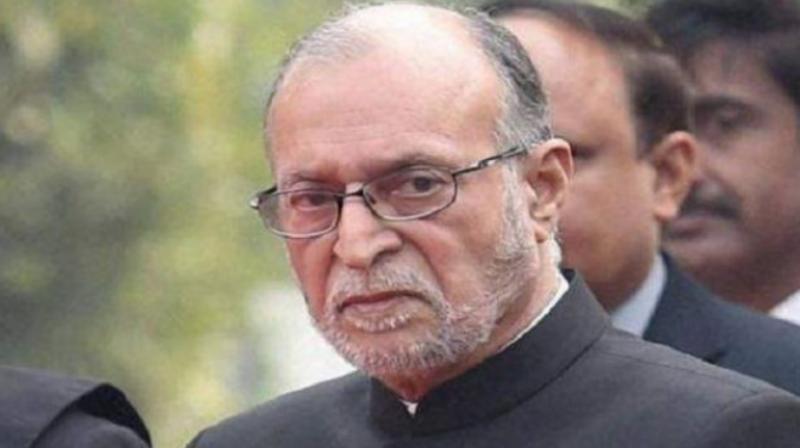 Delhi Lieutenant Governor Anil Baijal.