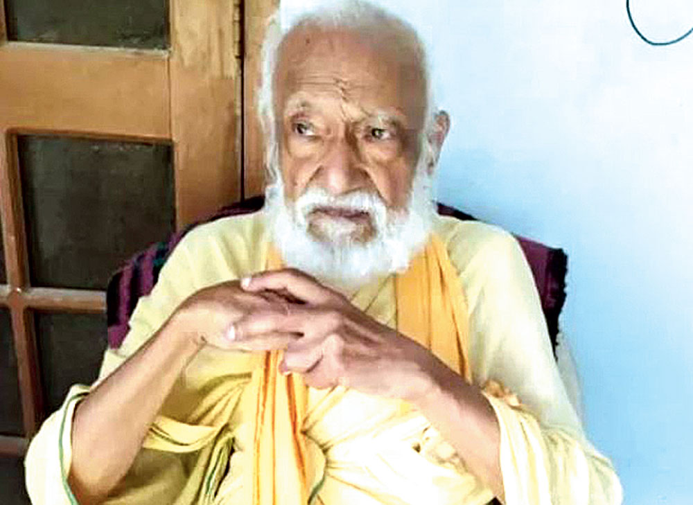 G.D. Agarwal also known as Swami Gyan Swaroop Sanand