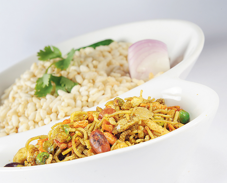 Jhalmuri, one of India's favourite snacks,  turned out to be a hit in England