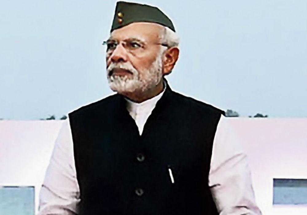 Prime Minister Narendra Modi in Port Blair on Sunday.
