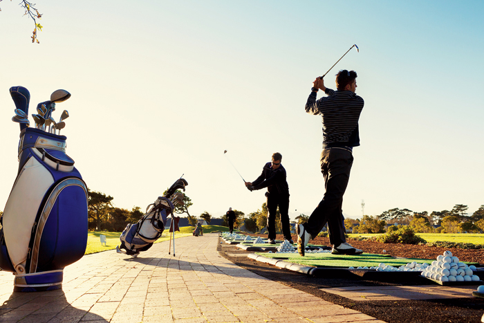 Unlike most sports, the energy requirement in golf is considerably less