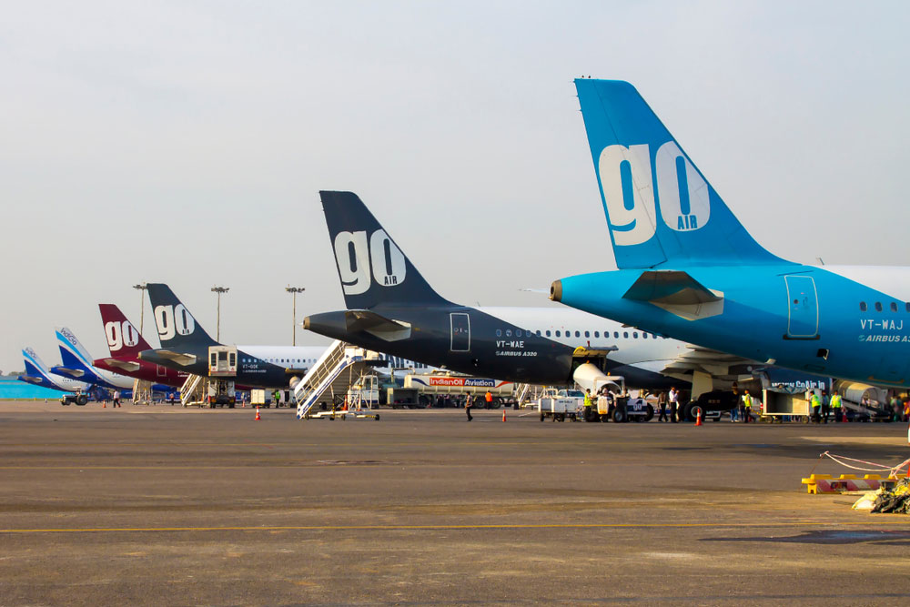 """""""With the exception of 2,500 employees, who are the least fortunate amongst us in the GoAir family, we were forced to place a substantial portion of our employees on temporary leave without pay,"""