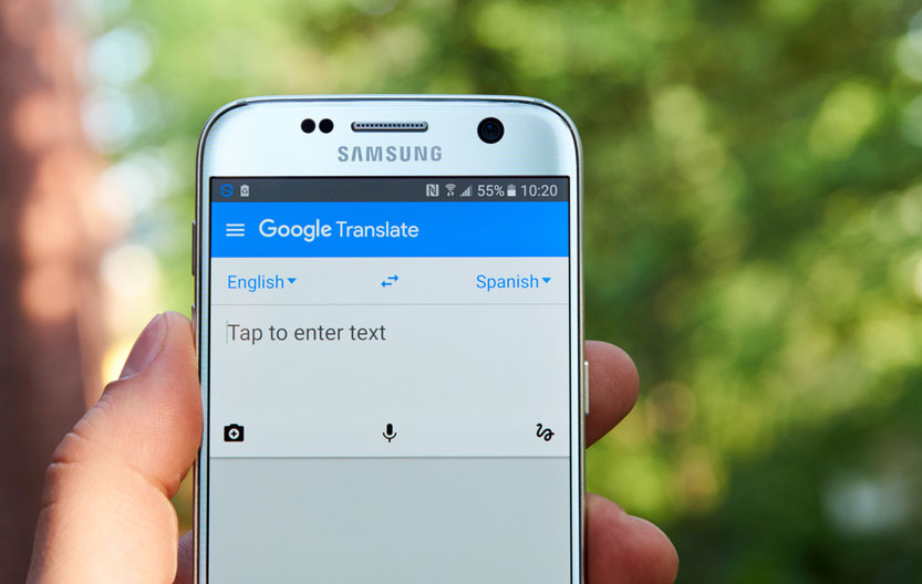 There is a sea of difference between translation and transliteration. This clearly eludes the data-guzzling artificial intelligence engine which powers Google Translate