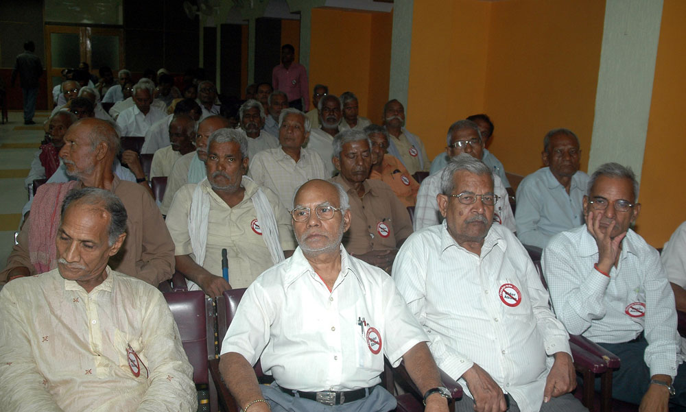 Cry against Rs 200 pension for elderly