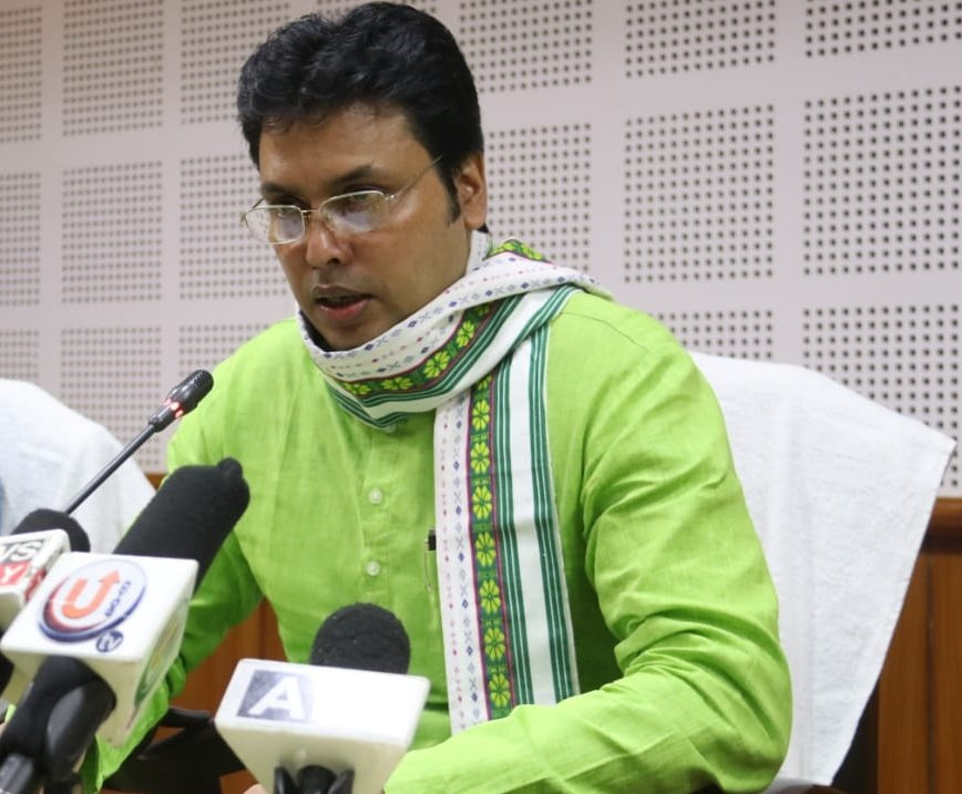 Biplab Kumar Deb said the Centre's decision to amend labour laws and increase daily working hours from eight to 12 hours was necessary to revive the economy damaged during the lockdown.